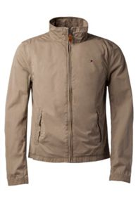 Barry Casual Full Zip Biker Jacket