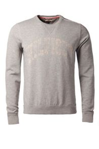 Hunter Print Crew Neck Pull Over Jumper