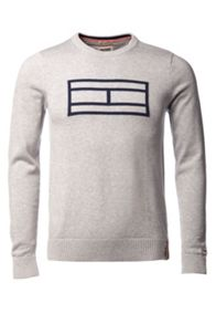 Kaleb Pattern Crew Neck Pull Over Jumper