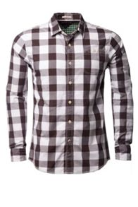 Nate Check Slim Fit Long Sleeve Shirt
