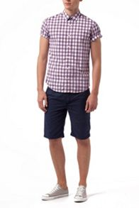 Norris Check Slim Fit Short Sleeve Shirt