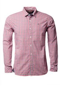 Norbert Check Slim Fit Long Sleeve Shirt