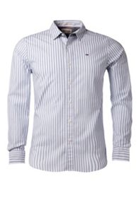 Thomas Stripe Slim Fit Long Sleeve Shirt