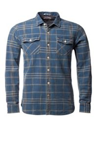 Norwich Check Slim Fit Long Sleeve Shirt