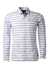 Nash Stripe Slim Fit Long Sleeve Shirt