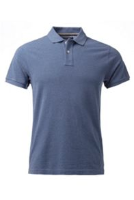 Classic Heather Plain Regular Fit Polo Shirt