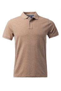 Classic Heather Plain Slim Fit Polo Shirt