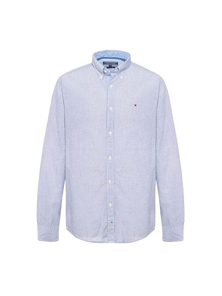 Tommy hilfiger stripe classic fit long sleeve button down for Tommy hilfiger vintage fit shirt