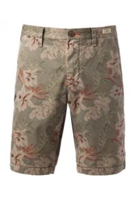 Brooklyn Babel Flower Cotton Shorts