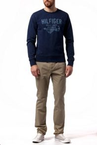 Barney Plain Crew Neck Jumper