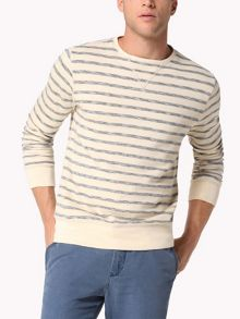 Nardo Stripe Crew Neck Jumper