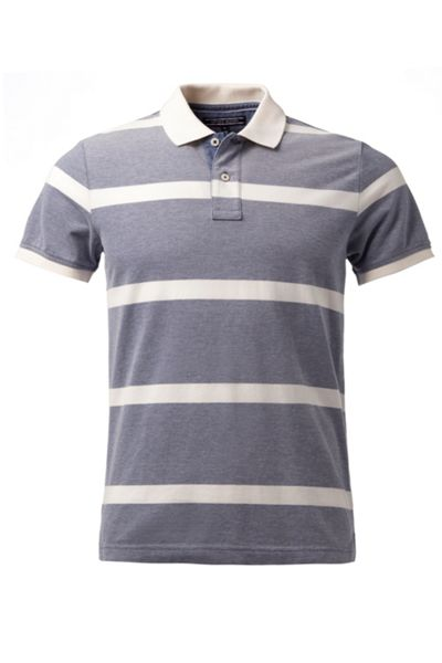 Tommy Hilfiger Bas Stripe Slim Fit Polo Shirt