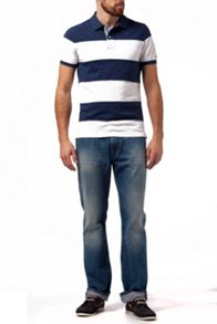 Sabim Stripe Regular Fit Polo Shirt