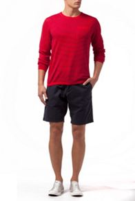 Brooke Poplin Ocean Washed Cotton Shorts