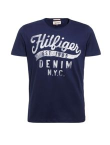 Tommy Hilfiger Tommy Graphic Crew Neck Slim Fit T-Shirt