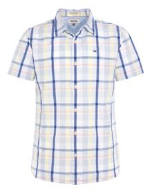 Jetto Check Classic Fit Short Sleeve Classic Coll