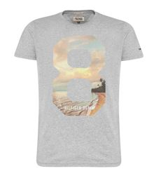 Ryan Graphic Crew Neck Slim Fit T-Shirt