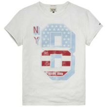 Tommy Hilfiger Wallace Graphic Crew Neck Slim Fit T-Shirt