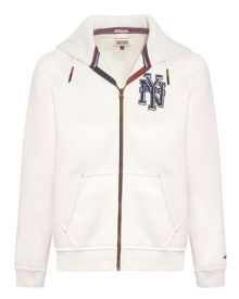 Hilfiger Graphic Zip Collar Zip Fastening Jumper