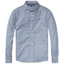 Tommy Hilfiger Boys Crown Dot Print Shirt