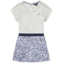 Tommy Hilfiger Girls Flakes Mix Dress