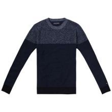 Chad Pattern Crew Neck Pull Over Jumper