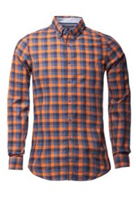 Tommy Hilfiger Check Classic Fit Long Sleeve Button Down Shirt
