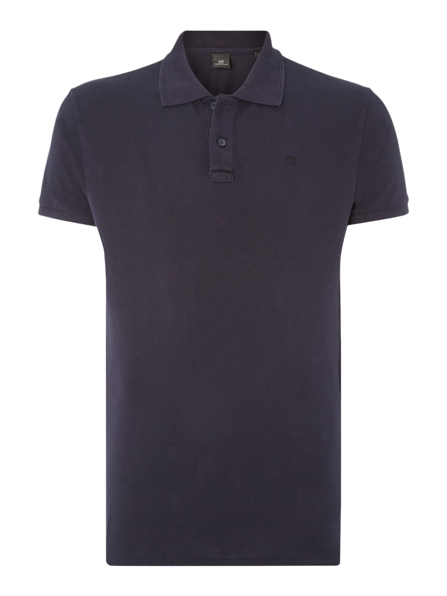 Men's Scotch & Soda Classic pique polo, Midnight