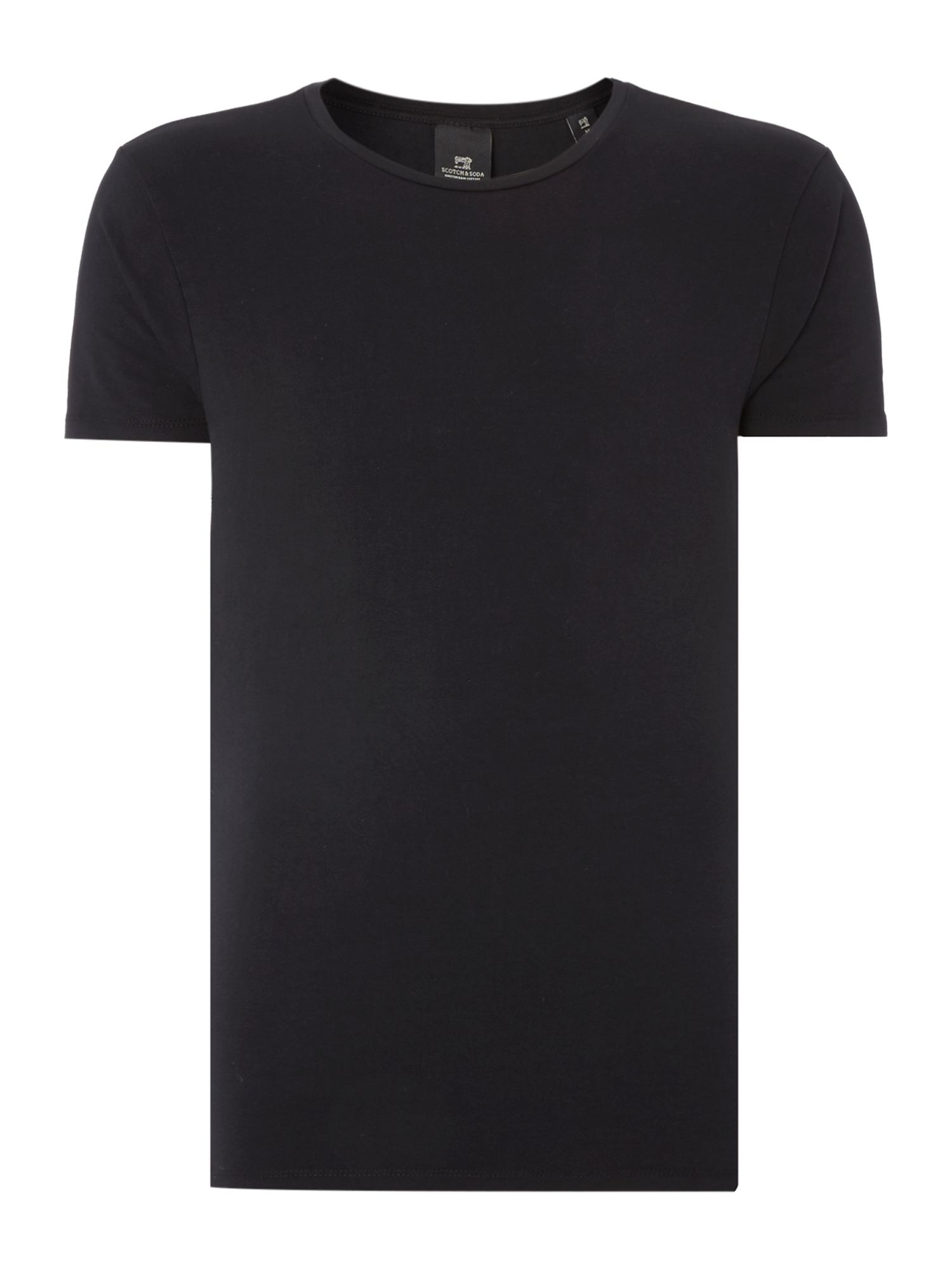 Men's Scotch & Soda Classic crewneck tee, Black
