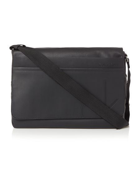 Calvin Klein Tom flat crossbody bag