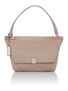Calvin Klein Kate neutral medium shoulder bag
