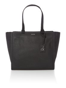 Calvin Klein Jennifer black large tote bag