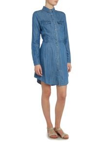 Calvin Klein Rivian denim shirt dress