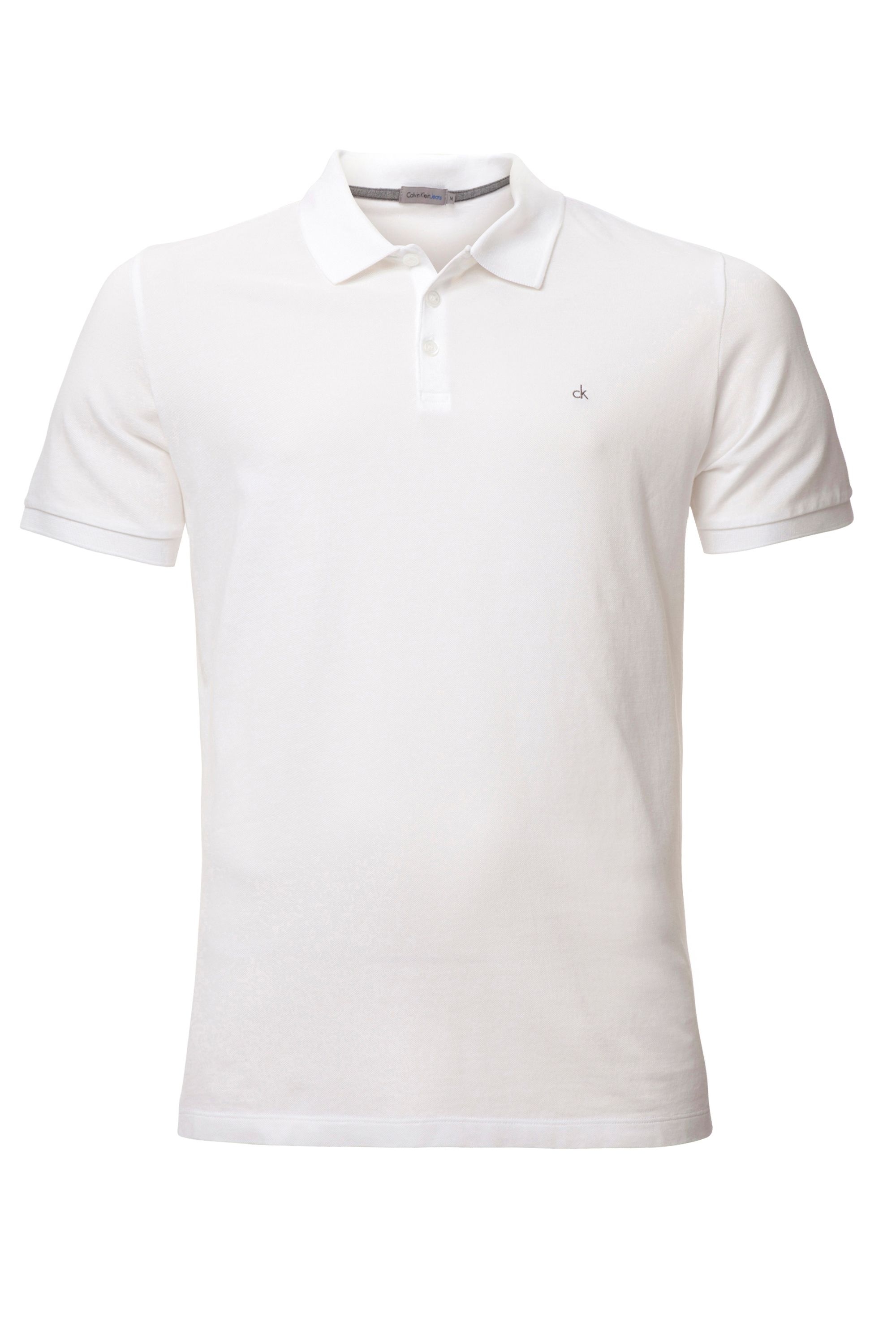 Men's Calvin Klein Paul Polo Shirt, White