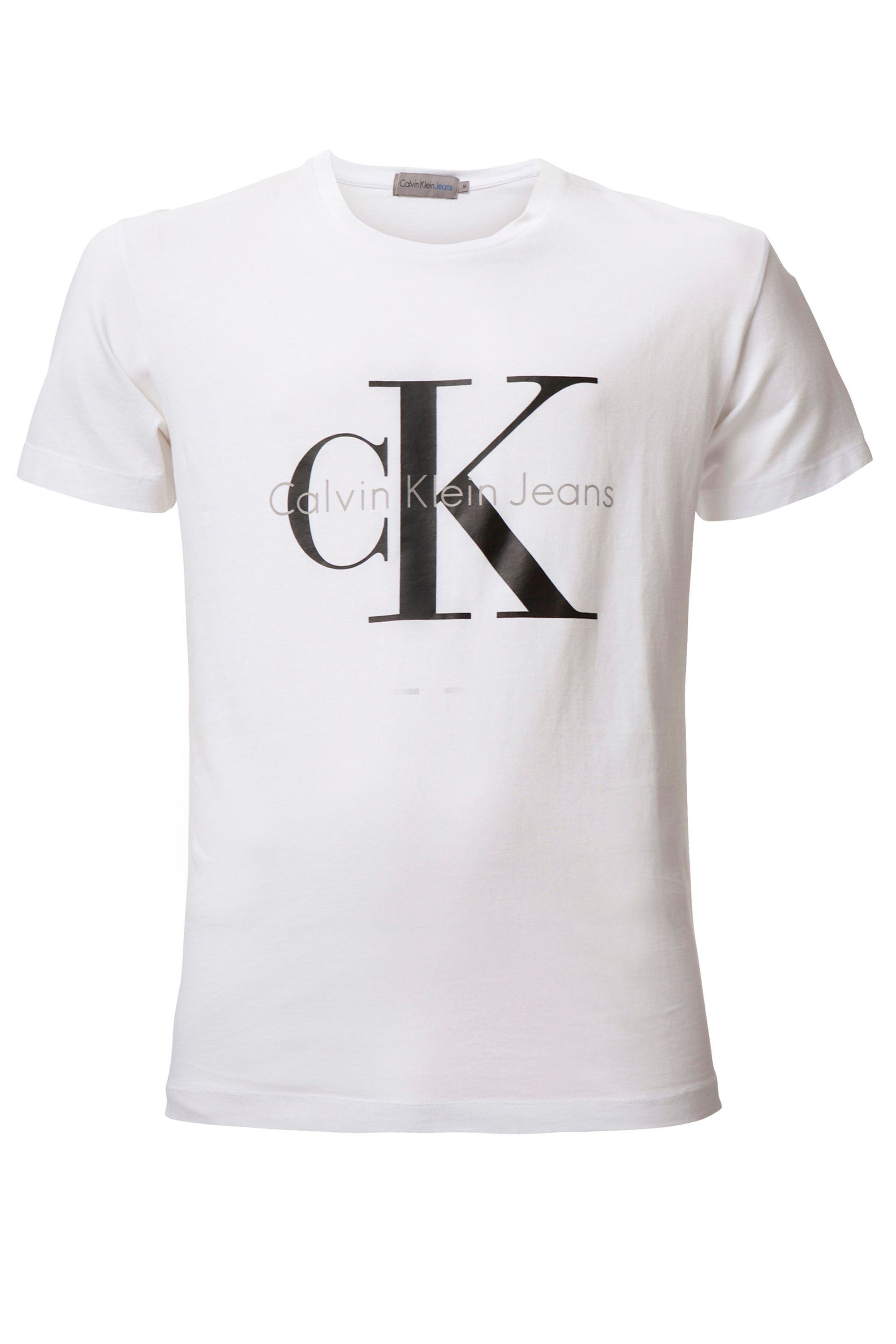 Men's Calvin Klein Tee true icon cn s/s t-shirt, White