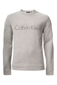 Calvin Klein Karlin heather terry front logo Fleece