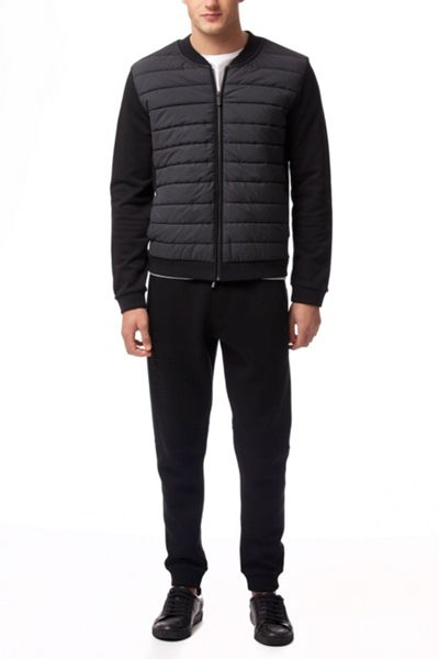 Calvin Klein Kardin french terry mix / nylon jacket