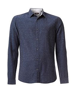 Galen two tone nep shirt