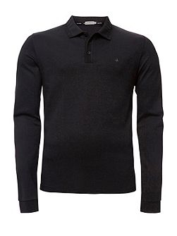 Parrot 2 slim fit polo l/s