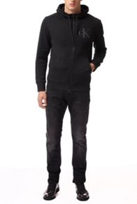Calvin Klein Hatch 2 hknit zip thru l/s