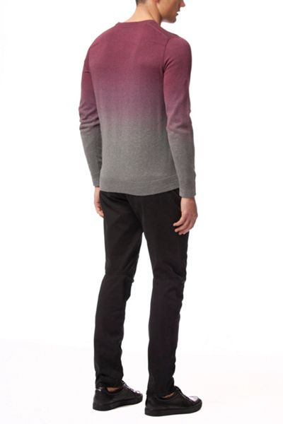 Calvin Klein Secur cn ombre long sleeve sweater