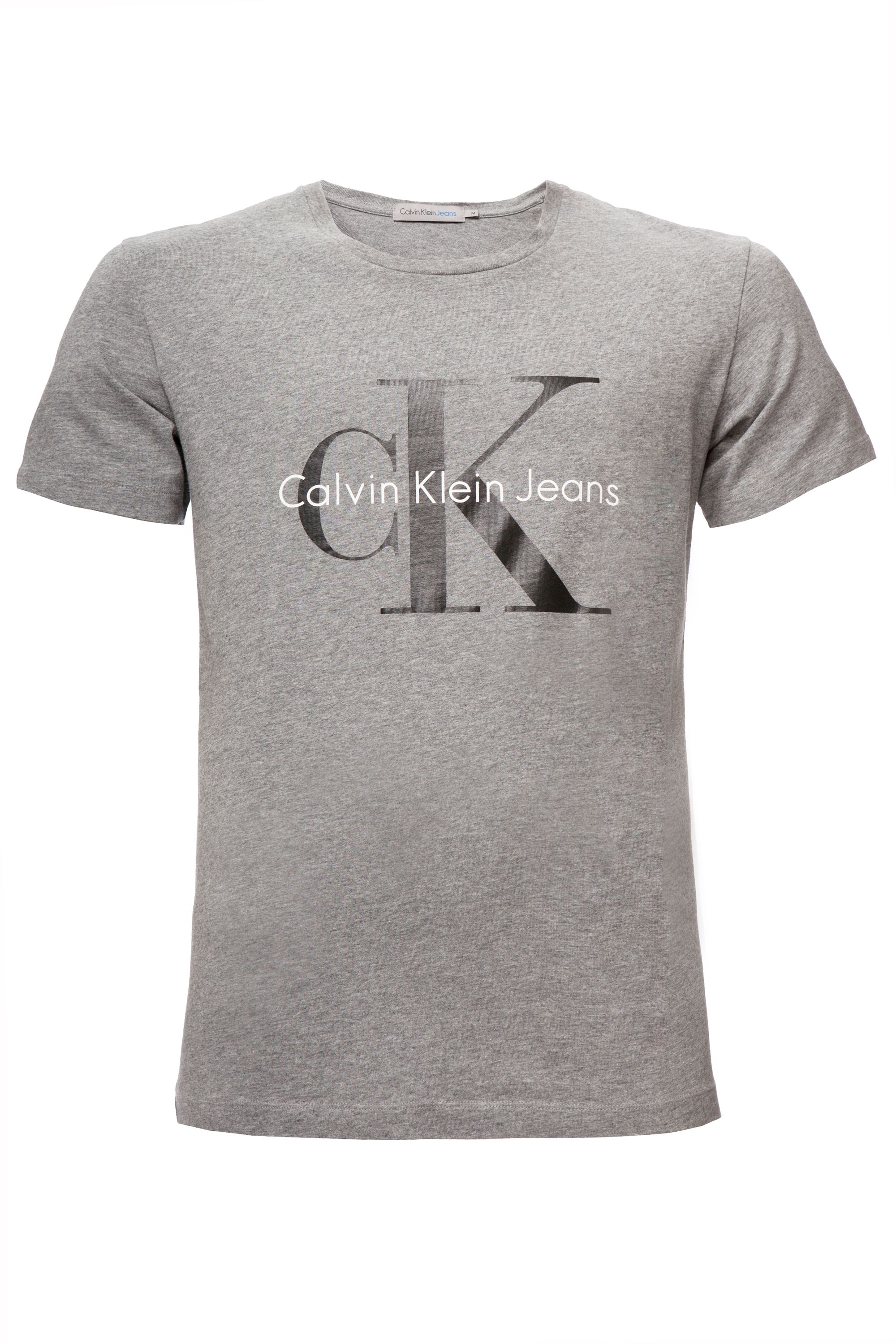 Men's Calvin Klein Tee true icon cn s/s t-shirt, Grey