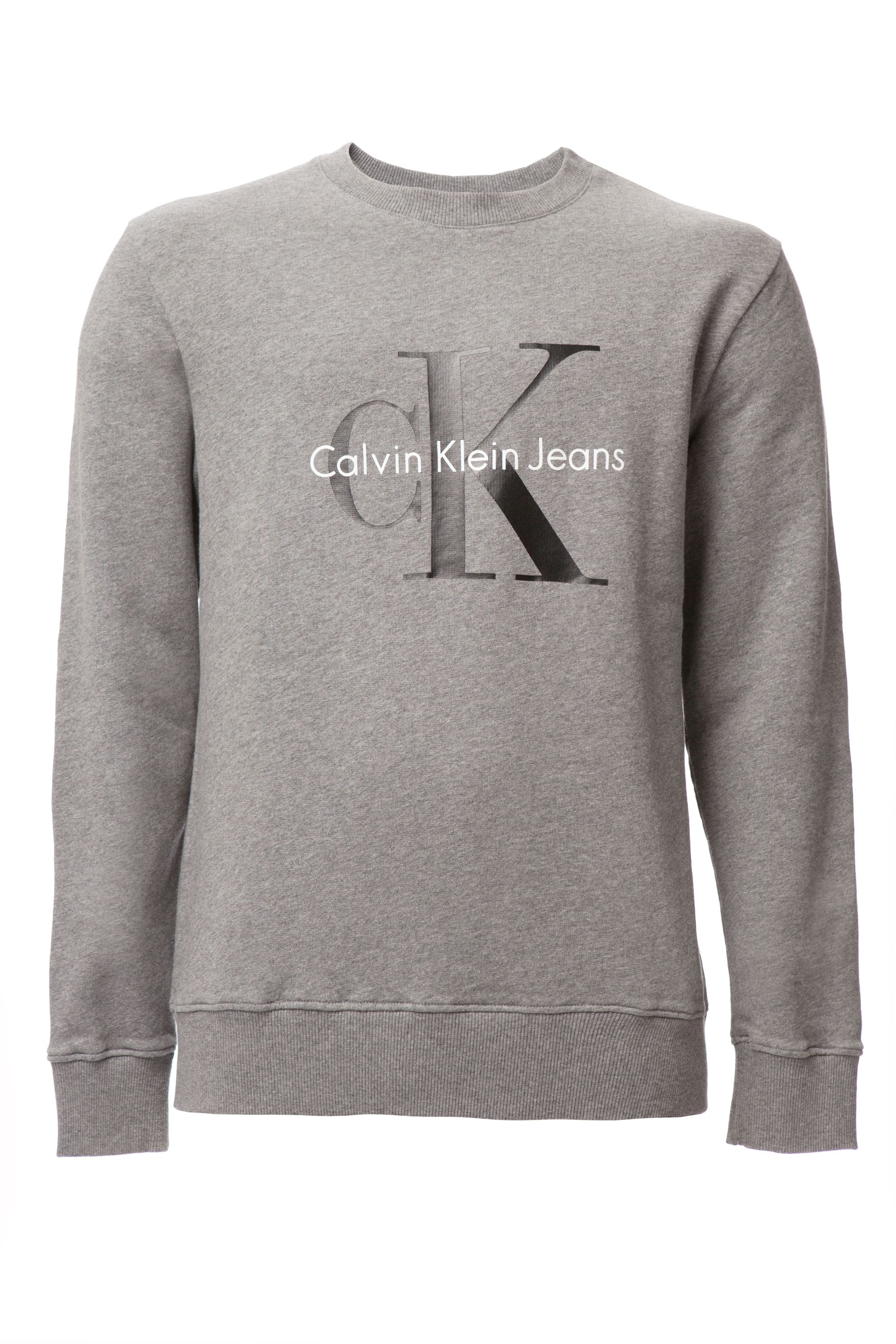 Men's Calvin Klein Crew neck hwk true icon sweatshirt, Grey