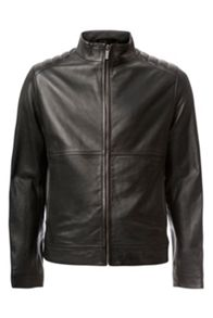 Calvin Klein Leam leather jacker