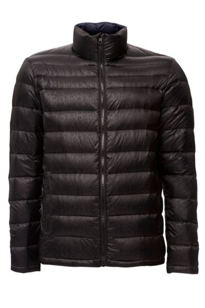 Calvin Klein Opack 2 logo aop packable down jacket