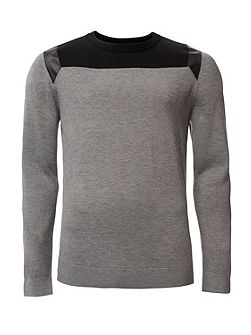 Secret 3 cn wool blend long sleeve sweater
