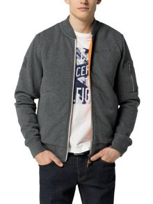 Tommy Hilfiger Binky Casual Full Zip Bomber Jacket