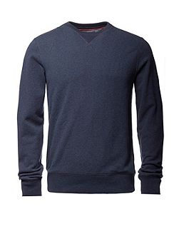 Brian Textured Crew Neck Pull Over Jumper