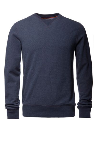 Tommy Hilfiger Brian Textured Crew Neck Pull Over Jumper