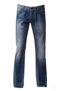 Denton Medium Wash Low Rise Jeans